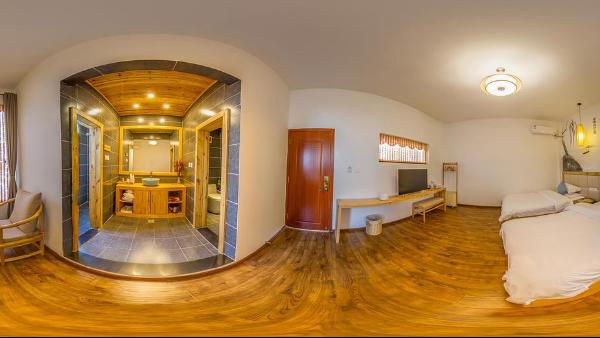 VR全景展示:开启720°看房模式